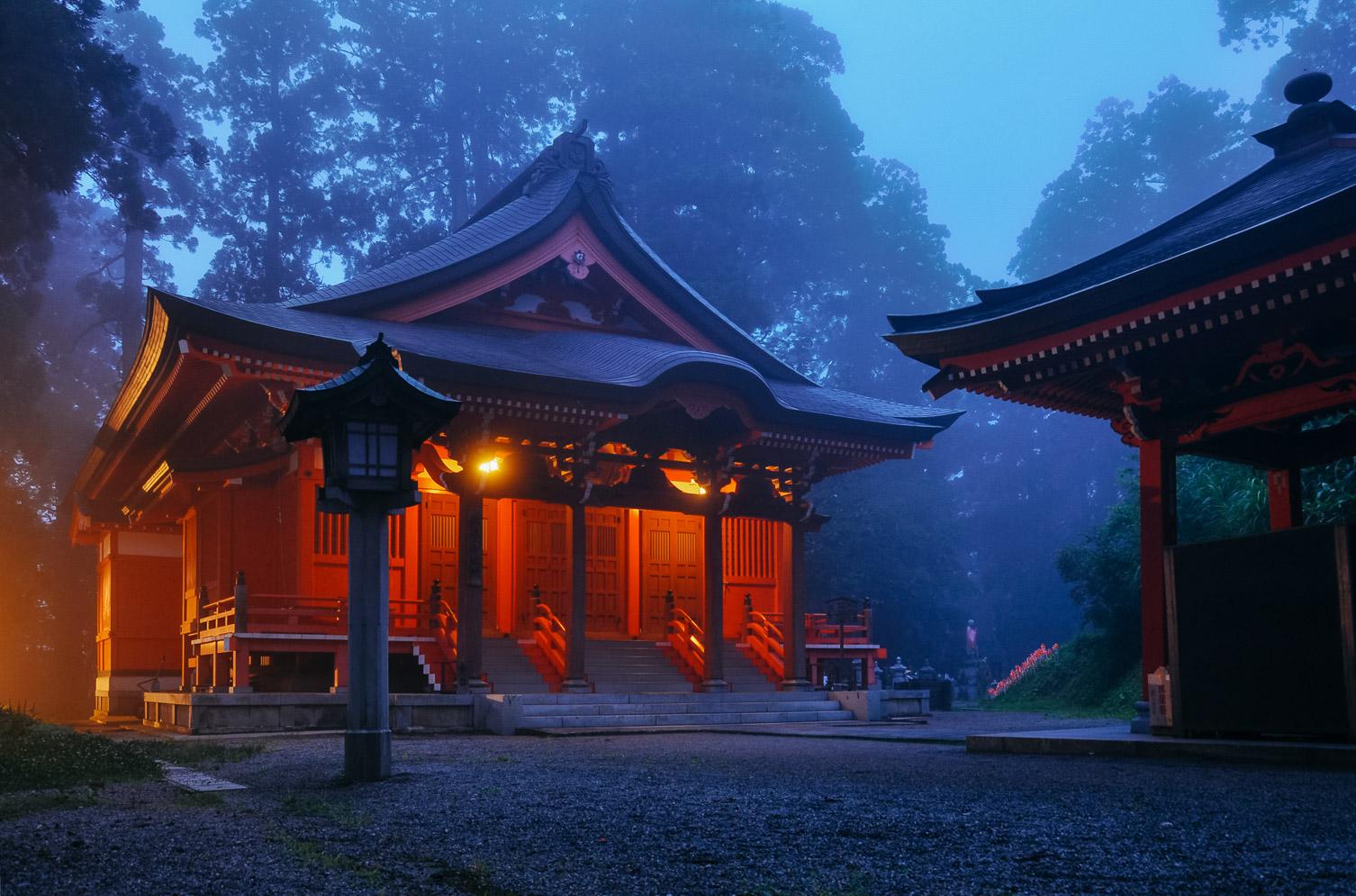 Dewa Sanzan japanese landscape
